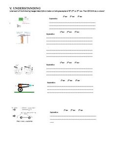 Forces Motion Worksheet | Work ideas | Pinterest | Science ...