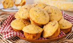 Fully Loaded Cornbread Muffins - In the Kitchen with Stefano Faita (Perfect for a BBQ rib menu) Cornbread Muffins, Corn Muffins, Rhubarb Bbq Sauce, Bacon Mashed Potatoes, Vanilla Sheet Cakes, Veggie Cups, Boston Baked Beans, Cookbook Recipes, Bread Recipes