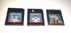 3 Gameboy Color Games Lot ~ LOONEY TUNES CARROT CRAZY ~ TWOUBLE! ~ ALERT!