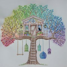 Johanna Basford | Picture by Zuzka (Czech Republic) | Colouring Gallery