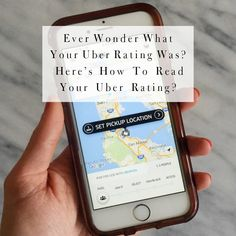 uber passenger rating check