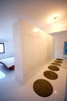 Arredamento corridoio stretto e lungo - Tappeti tondi