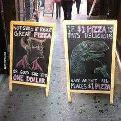 $1 Pizza
