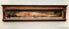 Hans Holbein der Jüngere - Christ in the tomb