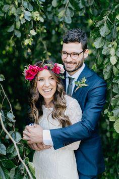 Lush Green Wedding With a Boho Twist - http://ruffledblog.com/lush-green-wedding-with-a-boho-twist | Emily Wren Photography