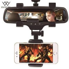 XMXCZKJ Car Phone Holder Car Rearview Mirror Mount Phone Holder 360 Degrees For iPhone Samsung GPS Smartphone Stand Universal - Phone Car Mount - Car Mount for sales - BANNED 1976 classic HD polarized metal frame fashion sunglasses classi Kopaland - Iphone Car Mount, Car Cell Phone Holder, Cell Phone Car Mount, Magnetic Phone Holder, Smartphone Holder, Iphone Holder, Phone Charger, Phone Cases, Car Rear View Mirror