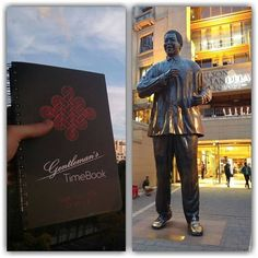Location: #NelsonMandelaSquare #Johannesburg #SouthAfrica ''It always seems impossible until it's done.''- Nelson Mandela   Learn from the bests with www.timebook.life