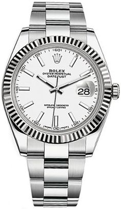 Rolex Datejust 41 126334 Item #: 126334-WHTSO