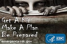 The U.S. Centers for Disease Control put up an honest-to-God article on preparing for a zombie apocalypse, so great. They happen to mention, as well, that it can be handy for other emergencies such as tornadoes and hurricanes.