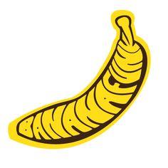 """Banana Funk Records"" Logo"