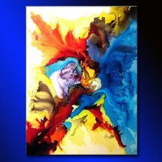 Abstract Art Huge Abstract Painting Original by newwaveartgallery, $1600.00