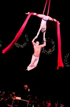 Incredible Aerial Silk Duo
