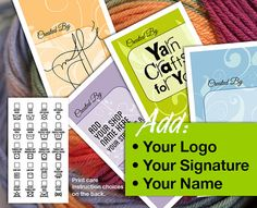Laundry Care  or Gift Tags  Add Your Own Logo by MadMadGraphics, $4.00