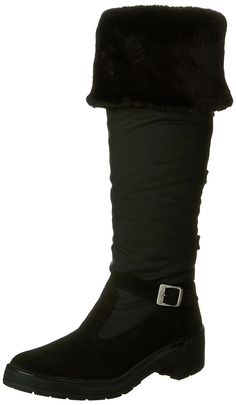 ca91de1cafd7c4 Pajar Womens Norah Snow Boot Black Suede 40 M US    You can find more  details by visiting the image link.