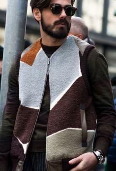 Milan Fashion Week 2015. #Mens #MFW #StreetStyle