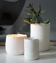 Ceramics by Kajsa Cramer  http://www.lamaisondannag.com/fr/28_kajsa-cramer