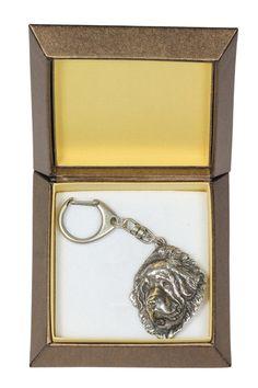 NEW Tibetan Mastiff dog keyring key holder in by ArtDogshopcenter
