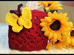 Crochet - Vibrant Toilet Paper Cover - what a lovely way ...