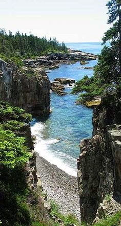 Acadia National Park, Maine, USA (photo: National Park Service) One of our favorite places on earth. Places To Travel, Places To See, Travel Destinations, Travel Deals, Places Around The World, Around The Worlds, All Nature, Adventure Is Out There, Vacation Spots
