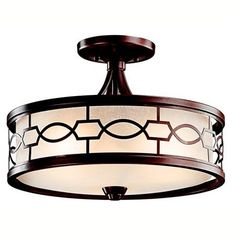 Shades of Light - pendant chandelier. A different direction to go in the dining room? $299
