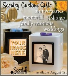 Scentsy Custom Gifts.....Coming August 1!!