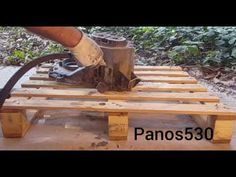 ΑΜΜΟΒΟΛΗ ΣΕ ΧΕΛΩΝΑ ΣΑΣΜΑΝ - YouTube Garden Bridge, Outdoor Structures, Good Things, Wood, Youtube, Home Decor, Decoration Home, Woodwind Instrument, Room Decor