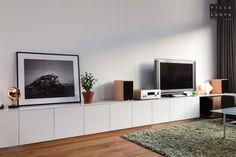 Ikea hack of seven meters level TV #tvstandshack