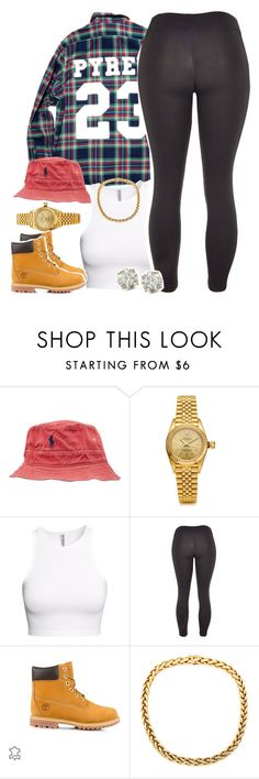 """Untitled #1434"" by lulu-foreva ❤ liked on Polyvore featuring moda, Polo Ralph Lauren, Rolex, H&M, adidas, Timberland, Auriya, women's clothing, women y female"