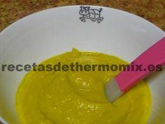 Papilla de pollo con verduras con Thermomix