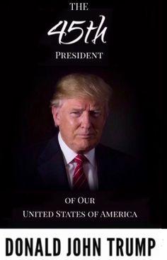 President Donald J. Trump. Making America great again.