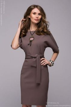 Fabric: knitted Jersey Sleeve length: 40 The length of the back: 85 Composition: polyester, elastane Manufacturer: D&M Send a dress to anywhere in the world quickly day) and inexpensively! Live photos and measurements on request :) Stylish Dresses, Casual Dresses, Fashion Dresses, Dresses For Work, Buy Dress, Dress Skirt, Business Dresses, Mode Outfits, Work Attire
