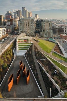 Olympic Sculpture Park by Weiss Manfredi. got to visit here when i was in seattle. beautiful park right on the sound.