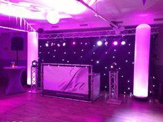 Wedding show geheel met LED verlichting! Geheel verzorgd door Stan Janssen Entertainment