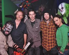 Fright dome at circus circus had a star studded day on tuesday danielle harris dj ashba and courtney gains visit fright dome at circus circus in las m4hsunfo Gallery