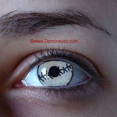 Demon Contact Lenses - Demon Eyez - Halloween Contact Lens Store