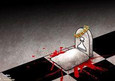#FreeIranianSoldiers  کاش همه جنگ ها و سرباز کُشی ها بر میز شطرنج رخ می داد #پنج_سرباز