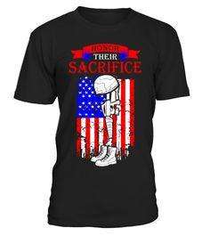 Honor Their Sacrifice Memorial Day Tshirt