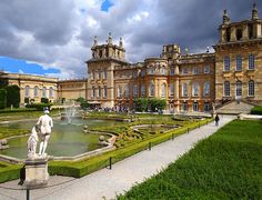 Blenheim Palace - Oxfordshire,birthplace of Winston Churchill, Also where Hamlet, Harry Potter and the Order of Phoenix, and The Avengers were filmed. Completed: not yet.