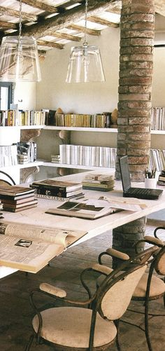 "~linen & lavender: ""A room without books...  Image 2 collected by ~L for l&l - www.linenlavenderlife.com - https://www.pinterest.com/linenlavender/a-room-without-books/"