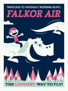 Falkor Air by *Montygog on deviantART