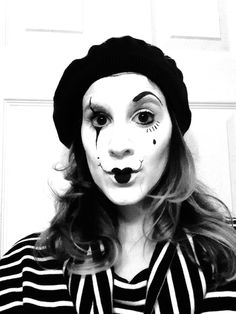 mime halloween makeup - Mime For Halloween