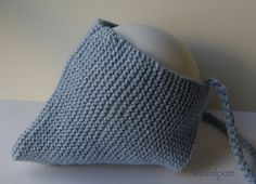 Mützchen Wolle-Baumwolle von ♥ Winzelpütt auf DaWanda.com