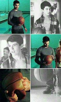 Derek Hale, then and now. #Teen Wolf