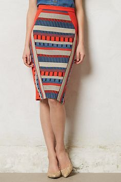 Merida Pencil Skirt- anthropologie