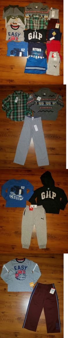Mixed Items and Lots 15620: Nwt Boys Fall Winter Clothes Lot Size 5 5T Pants L S Shirts Hoodie Brand Names -> BUY IT NOW ONLY: $140 on eBay!