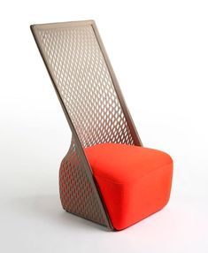 Salone Del Mobile 2013: A Unique Lounge Chair By Benjamin Hubert #Salonedelmobile2013 #Milandesignweek #Milano #chairs