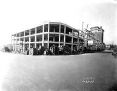 Another Shot of the Grove Arcade in downtown #Asheville under construction. Dated 1-27-27