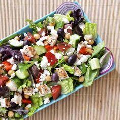 ensalada griega receta