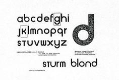 Alfabeto universal de Herbert Bayer