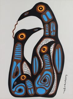 Buy online, view images and see past prices for Norval Morrisseau (Ojibwe, 1932–2007), Bird Family. Invaluable is the world's largest marketplace for art, antiques, and collectibles.